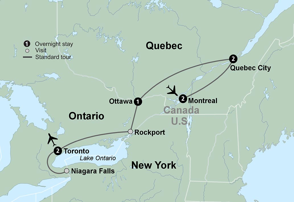 The Best Of Eastern Canada Tour