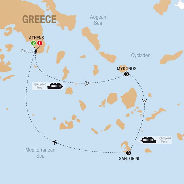 Greek island hopper greek island hopper map gumiabroncs Image collections