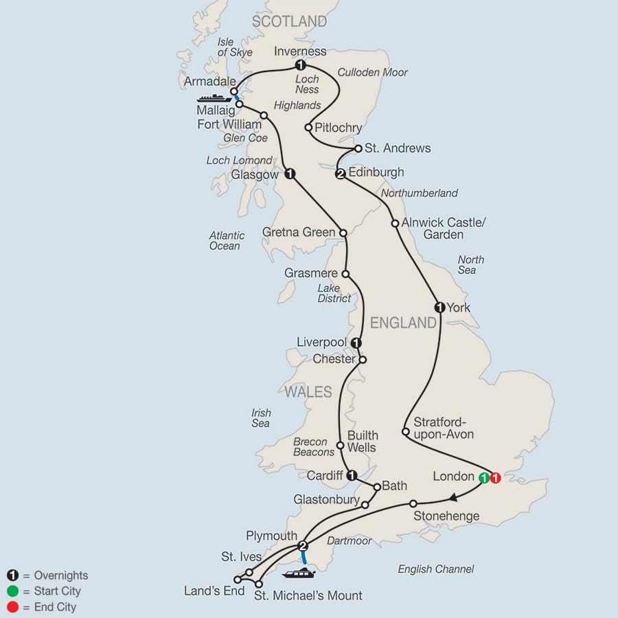 Essential Britain Tour
