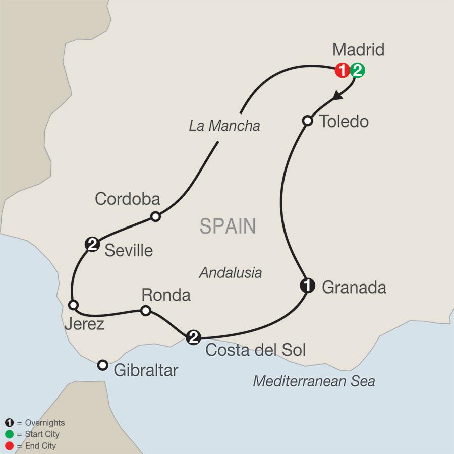 Portugal Morocco & Spain